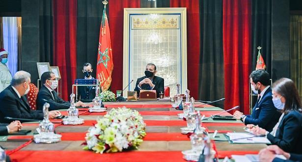Le Roi Mohammed VI préside une séance de travail dédiée à la stratégie des énergies renouvelables