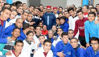 سلا .. الملك محمد السادس يدشن مركزا للتكوين المهني بسجن العرجات 2