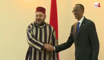 Entretiens à Kigali entre le Roi Mohammed VI et le Président rwandais