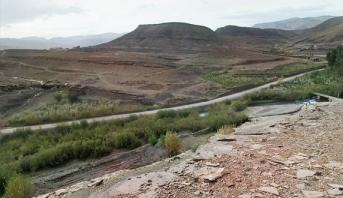انقطاع مؤقت لحركة السير بين بومالن - دادس وامسمرير بإقليم تنغير