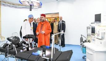 Le Roi Mohammed VI inaugure à Casablanca un Centre médical de proximité