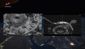 """المركبة الفضائية الروسية """"سيوز"""" تلتحم بنجاح بالمحطة الدولية عند المحاولة الثانية"""