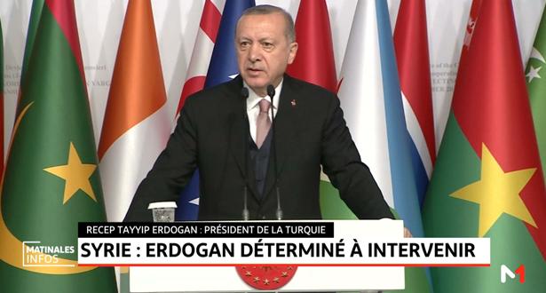 Syrie: Erdogan déterminé à intervenir
