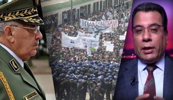 اسليمي: القايد صالح يقود الجزائر نحو حالة الطوارئ
