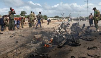 Somalie: une base militaire cible d'un attentat à la voiture piégée