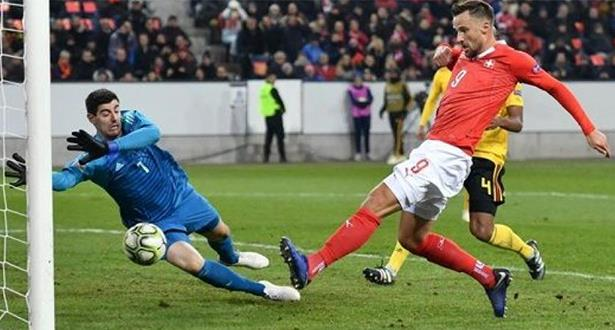 سويسرا تكتسح بلجيكا وتتأهل للمربع الذهبي لدوري أمم أوروبا