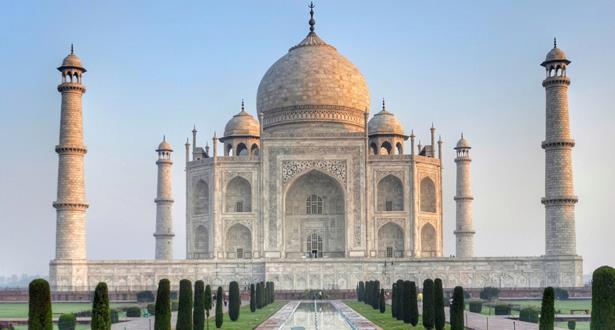 Inde/Covid-19 : Le Taj Mahal rouvre ses portes au public après six mois de fermeture