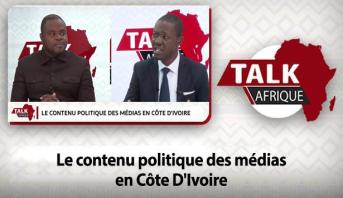 Talk Afrique > Le contenu politique des médias en Côte D'Ivoire