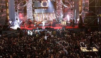 """""""فناير"""" ورضا طالياني يلهبان حماس الجمهور في السهرة الختامية لمهرجان """"تيميتار"""""""