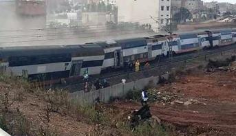 فتح بحث قضائي من أجل استجلاء ظروف وأسباب حادث انحراف القطار ببوقنادل