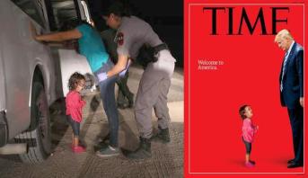 """""""فضيحة"""" تفريق العائلات على يد ترمب .. قصة صورة هزت مشاعر العالم"""