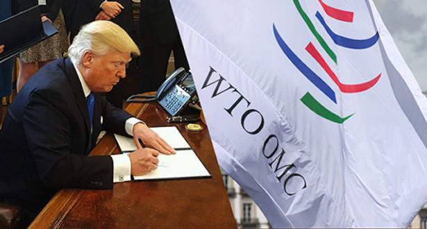 ترامب يهدد بالانسحاب من منظمة التجارة العالمية