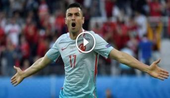 فيديو .. تركيا تبقي على حظوظها الضعيفة في التأهل للدور الثاني بعد الفوز على التشيك