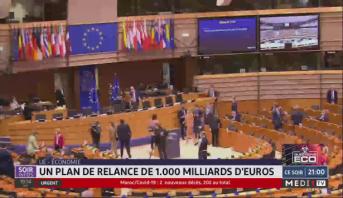 UE-Economie: un plan de relance de 1.000 milliards d'euros