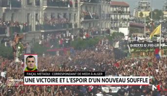 Algérie: une victoire et l'espoir d'un nouveau souffle