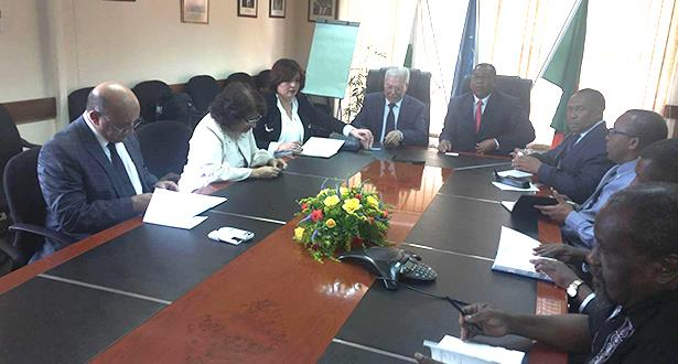 وفد من الأمانة العامة لاتحاد المغرب العربي يقوم بزيارة عمل لزامبيا