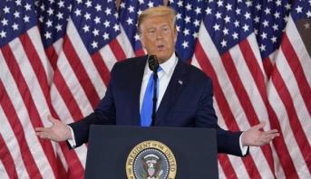 """Trump revendique avoir """"gagné"""" l'élection malgré le décompte en cours"""