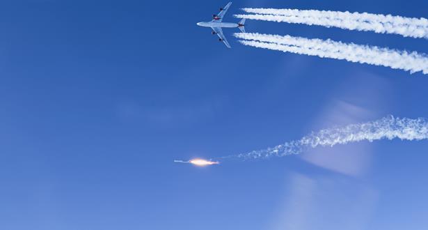 """صاروخ """"فيرجن أوربت"""" يصل الفضاء للمرة الأولى بعد إطلاقه من جناح طائرة"""