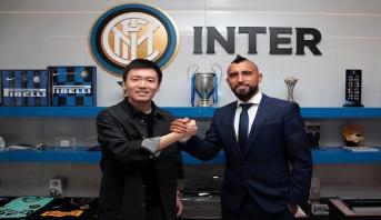 Le Chilien Arturo Vidal rejoint l'Inter Milan