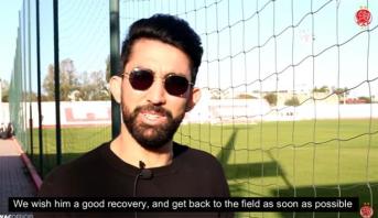 """مبادرة ودادية """"إنسانية"""" تجاه لاعب ماميلودي صنداونز (فيديو)"""