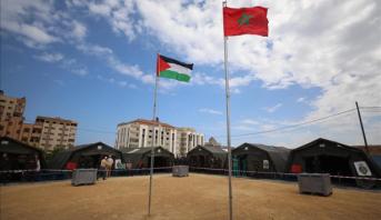 """الأردن .. وفد برلماني مغربي يزور المستشفى الميداني المغربي بمخيم """"الزعتري"""""""