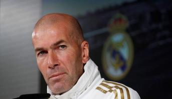 زيدان يؤكد جاهزية ريال مدريد ذهنيا وبدنيا