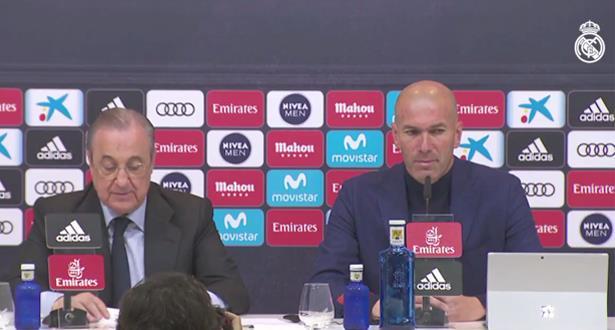 Espagne - Real Madrid: Zinédine Zidane quitte son poste d'entraîneur