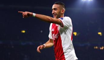 Ajax Amsterdam: Ziyech élu joueur de l'année