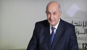 انتخاب عبد المجيد تبون رئيسا للجزائر