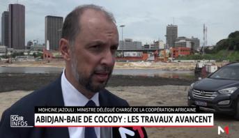 Baie de Cocody à Abidjan: les travaux avancent
