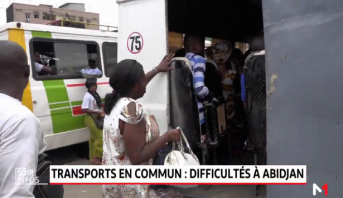 Abidjan: le calvaire du transport urbain
