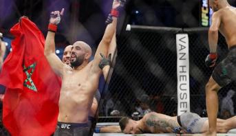 البطل المغربي عثمان زعيتر يفوز بالضربة القاضية على الفنلندي تيمو باكالين