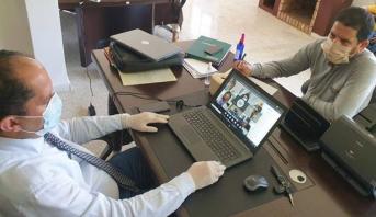 لقاء افتراضي لأكاديمية الدار البيضاء - سطات لإعداد لامتحانات البكالوريا