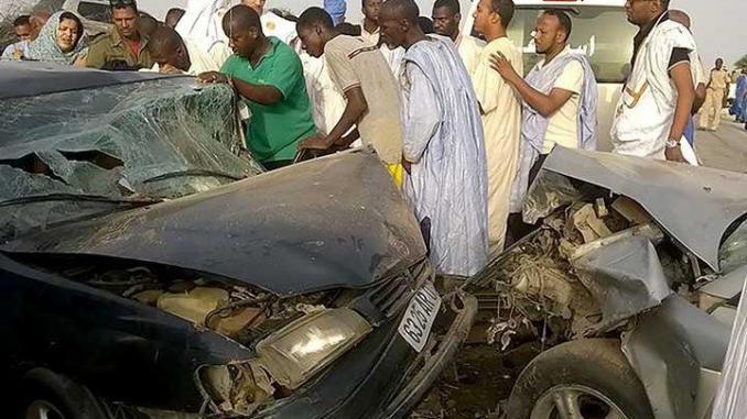 Huit morts dans un accident de la route en Mauritanie