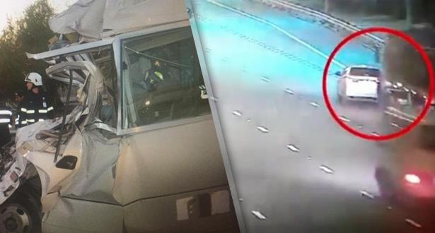 فيديو .. مصرع 6 أشخاص في حادثة سير خطير بالإمارات