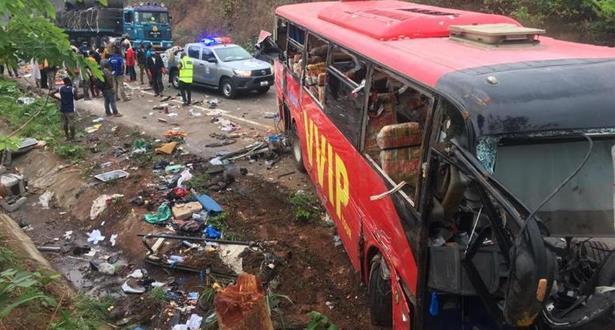 Accident d'autocar dans le nord du Ghana: Au moins 60 morts