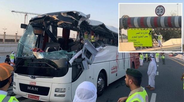 مصرع 17 شخصا في حادثة سير بدبي
