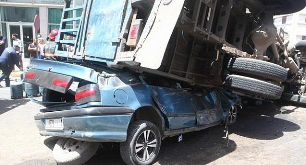 29 قتيلا و1856 جريحا حصيلة ضحايا حوادث السير بالمدن خلال الأسبوع الماضي