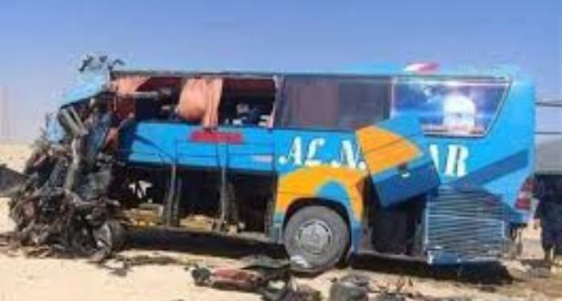 Égypte: 10 morts et 25 blessés dans un accident de la route dans le nord
