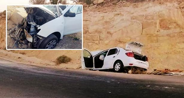 حادث سير مميت يودي بحياة أربعة أشخاص ضواحي أكادير
