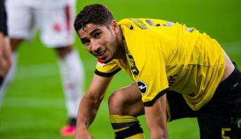 Achraf Hakimi quitte Dortmund