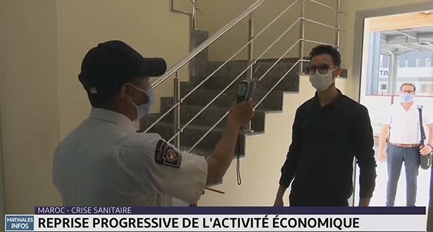 Maroc-Crise sanitaire: reprise progressive de l'activité économique