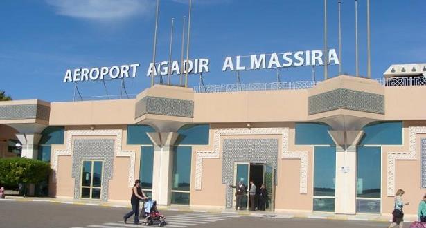 ارتفاع  عدد مستعملي مطار المسيرة أكادير في الفصل الأول من 2019