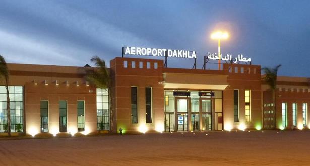 ارتفاع حركة النقل الجوي بمطار الداخلة خلال النصف الأول من هذا العام