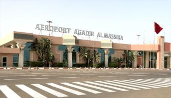 مطار أكاديرـ المسيرة يتجاوز عتبة مليوني مسافر مع متم سنة 2019
