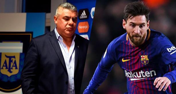 طلب الأرجنتين بخصوص ميسي يُقابل بتجاهل من طرف مدرب برشلونة