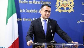L'Italie salue l'engagement du Maroc en faveur d'une solution politique à la crise en Libye