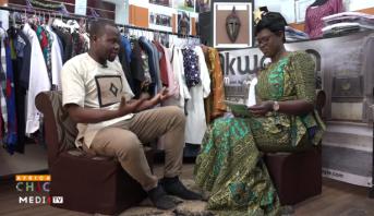 AFRICA CHIC > Côte d'Ivoire: le recyclage des sacs de cacao et du tissu africain