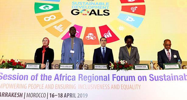 مراكش .. انتخاب المغرب رئيسا للمنتدى الإفريقي للتنمية المستدامة