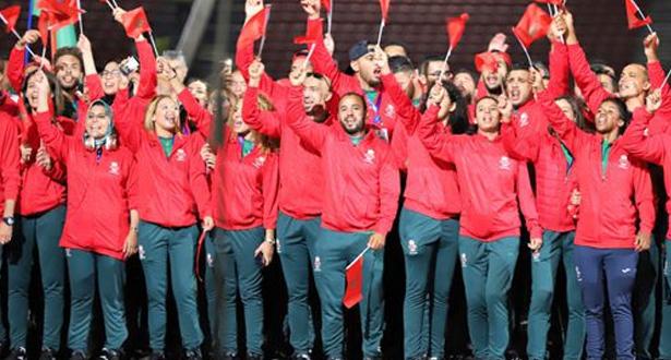 ترتيب وحصيلة المغرب النهائية في الألعاب الإفريقية